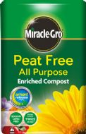 Miracle-Gro All Purpose Peat Free Compost - 50L